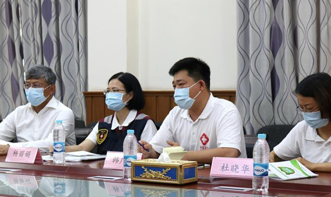 China sends medical team to Myanmar for COVID-19 control